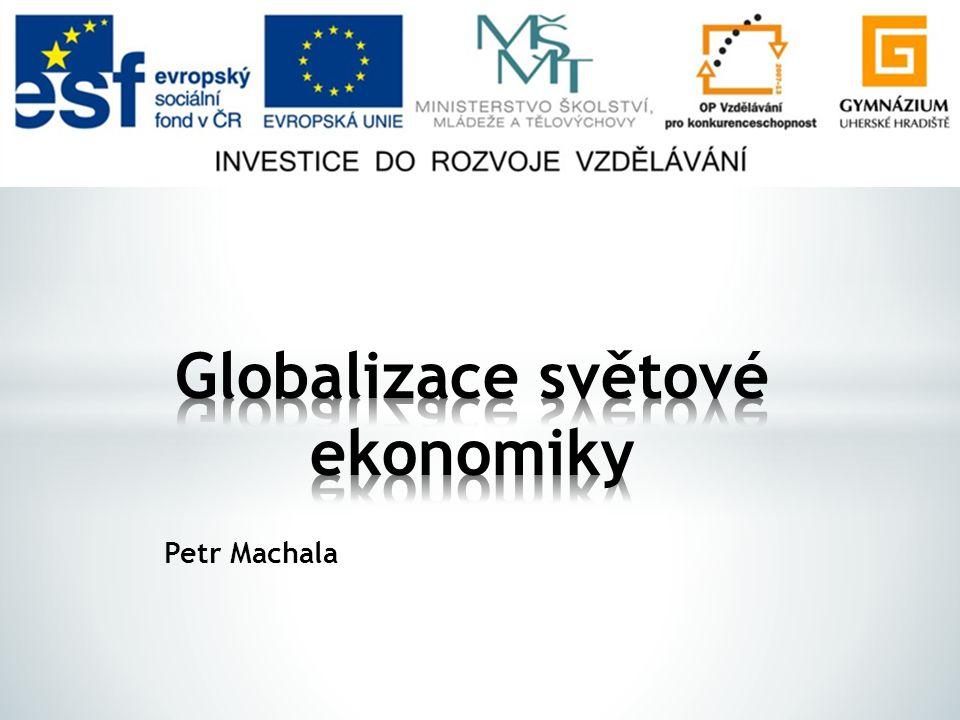 Globalizace světové ekonomiky