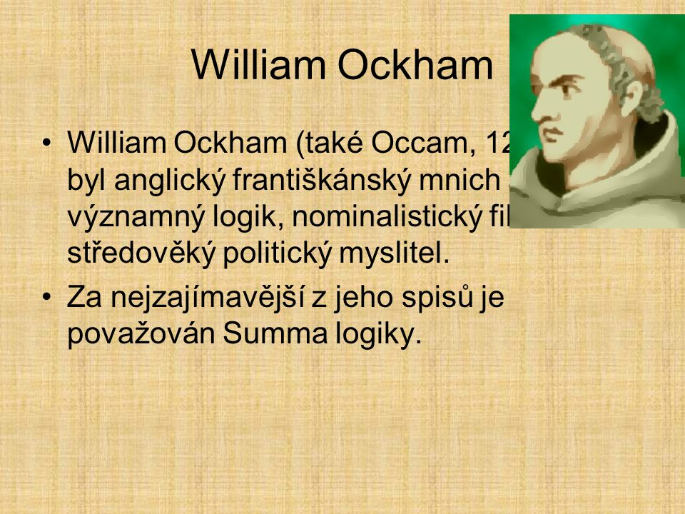 William Ockham