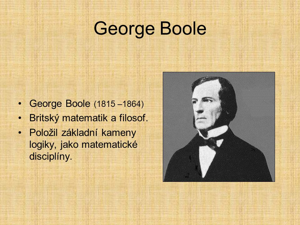 augustus de morgan and george boole George boole - original thinker and man of genius philosophy & logic george boole - original thinker and man of genius they were the british mathematician and logician augustus de morgan (1806-71.