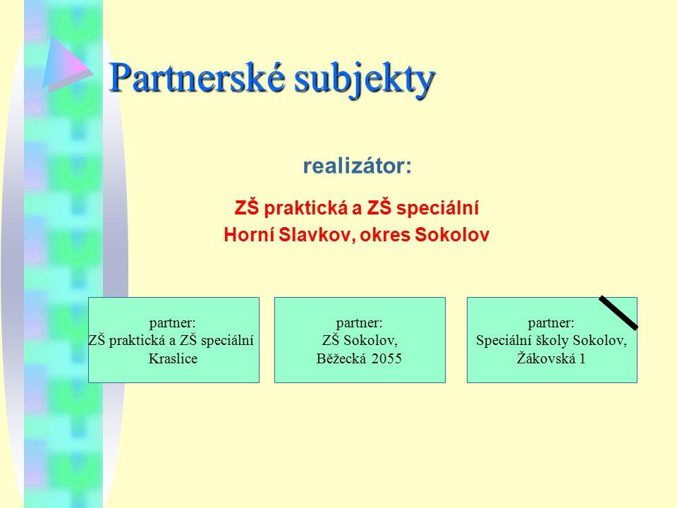 ZŠ praktická a ZŠ speciální Horní Slavkov, okres Sokolov