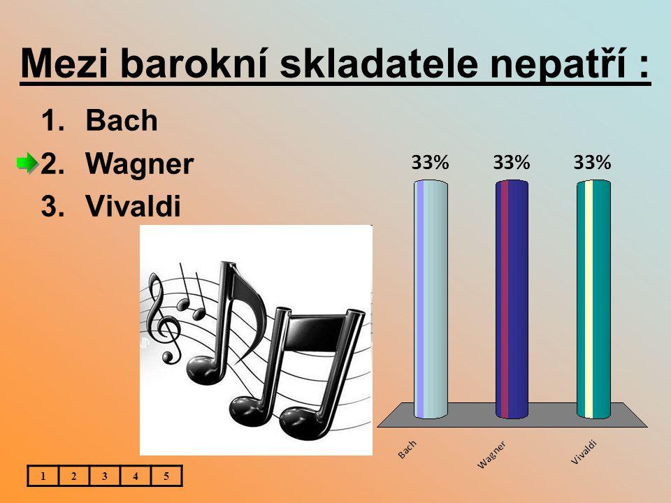 Mezi barokní skladatele nepatří :