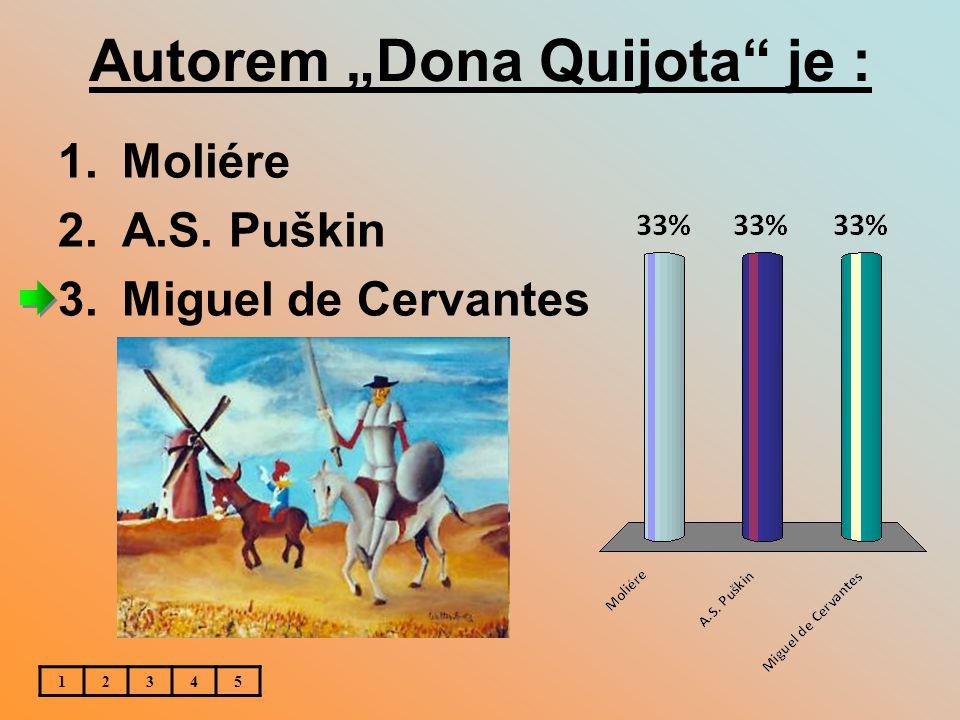 """Autorem """"Dona Quijota je :"""