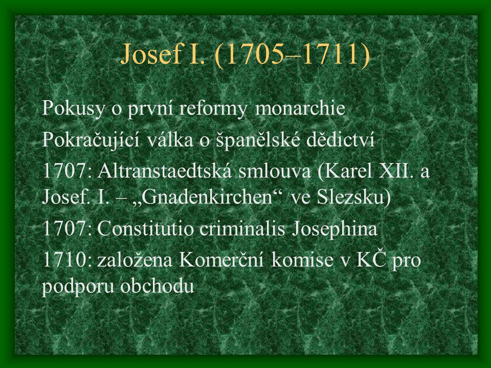 Josef I. (1705–1711)