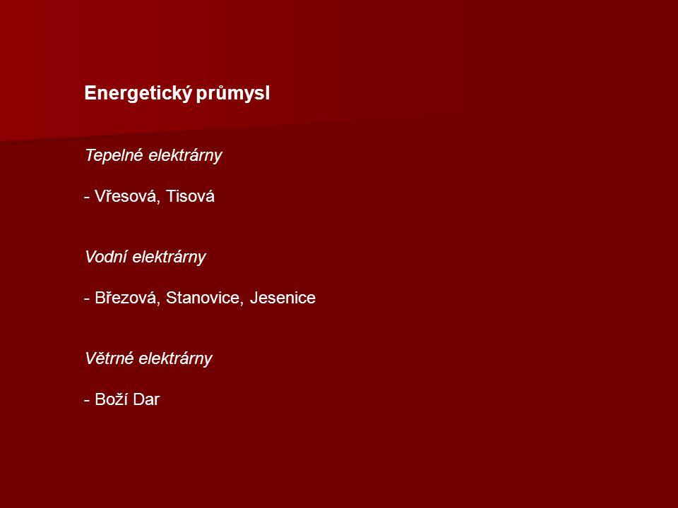 Energetický průmysl Tepelné elektrárny Vřesová, Tisová