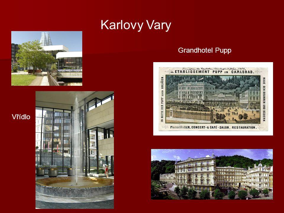 Karlovy Vary Grandhotel Pupp Vřídlo