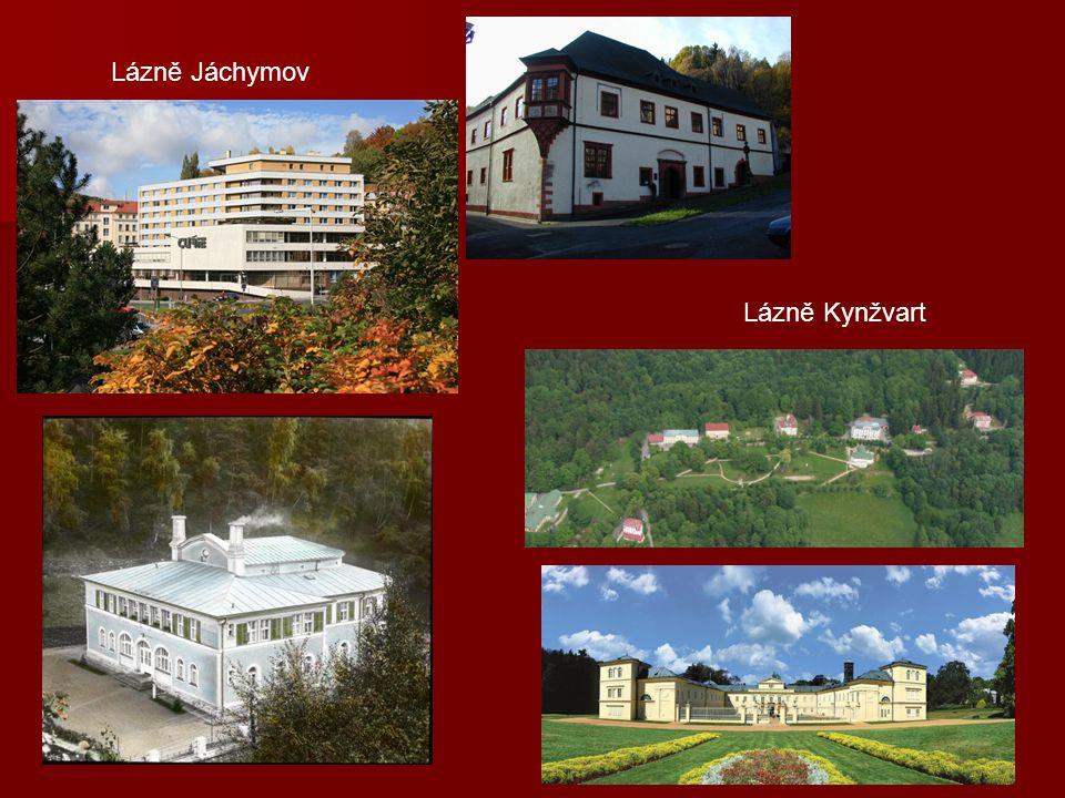Lázně Jáchymov Lázně Kynžvart