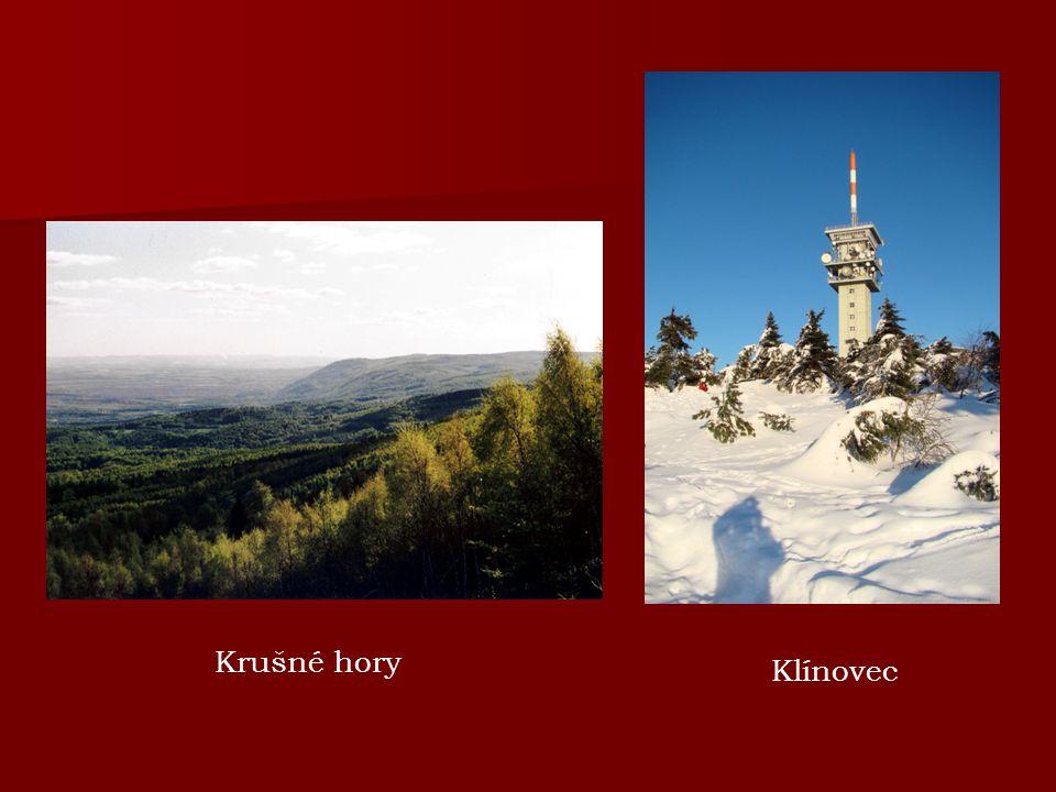 Krušné hory Klínovec