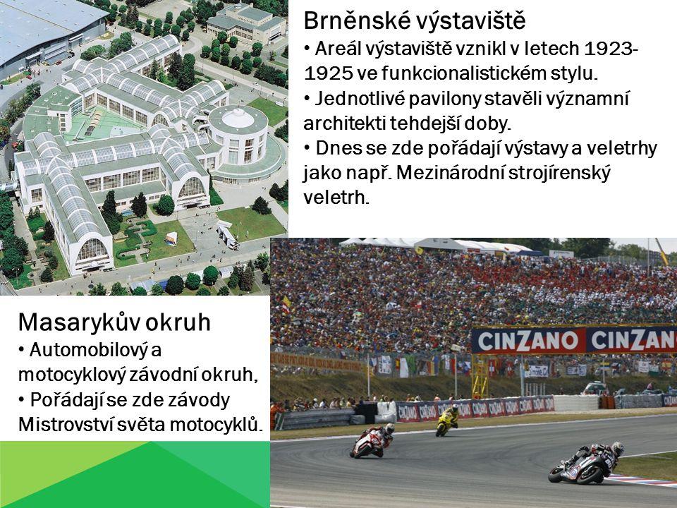 Brněnské výstaviště Masarykův okruh