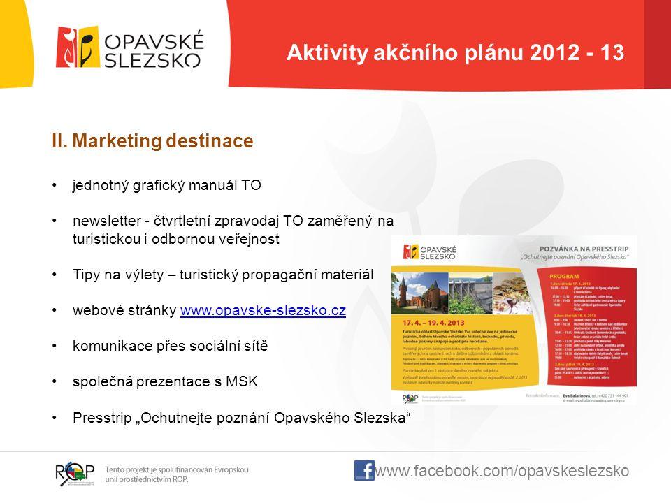 Aktivity akčního plánu 2012 - 13
