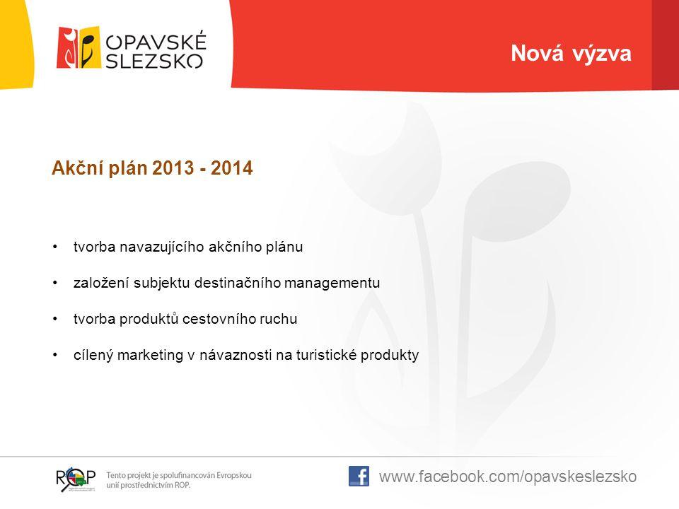 Nová výzva Akční plán 2013 - 2014 www.facebook.com/opavskeslezsko