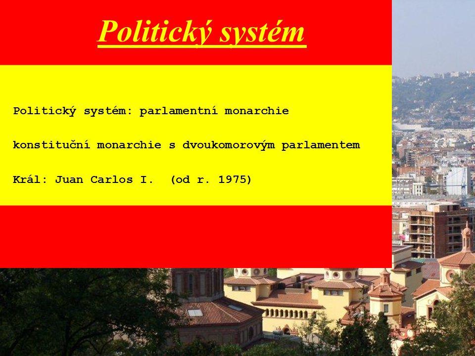 Politický systém Politický systém: parlamentní monarchie