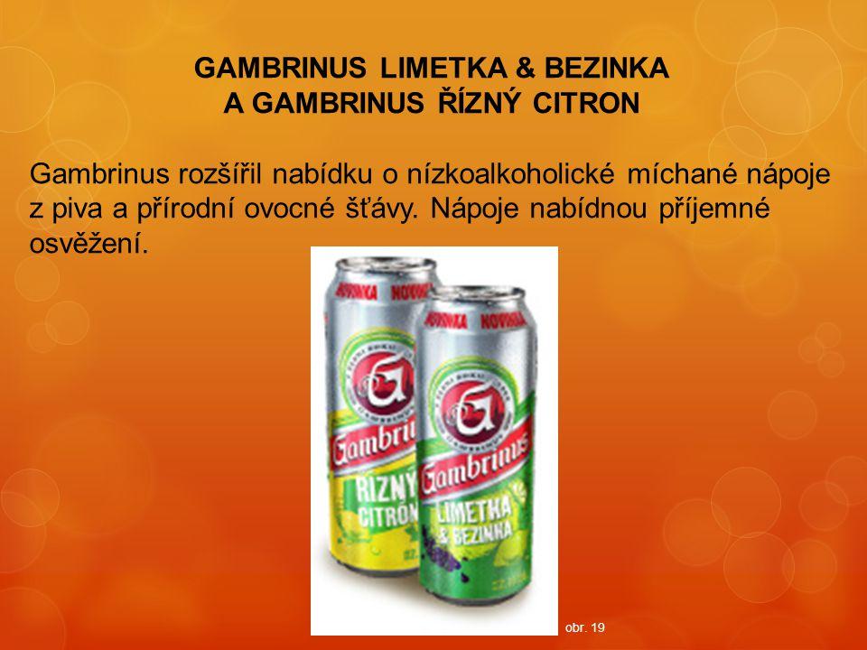 GAMBRINUS LIMETKA & BEZINKA A GAMBRINUS ŘÍZNÝ CITRON