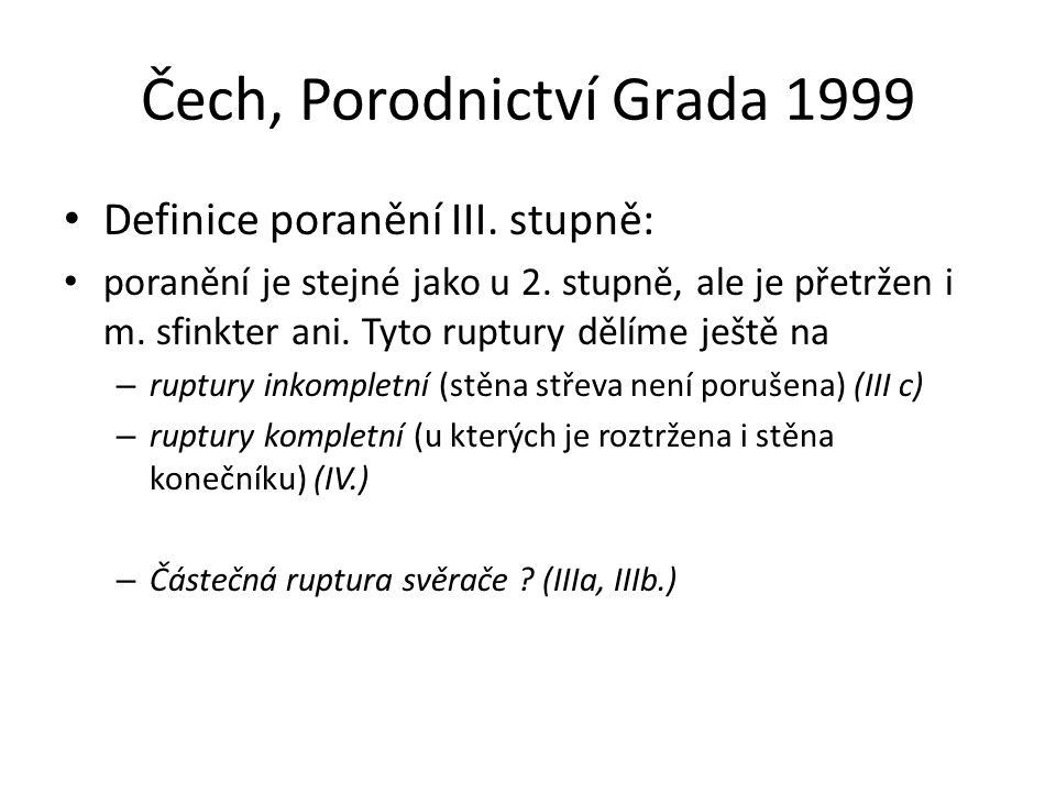 Čech, Porodnictví Grada 1999