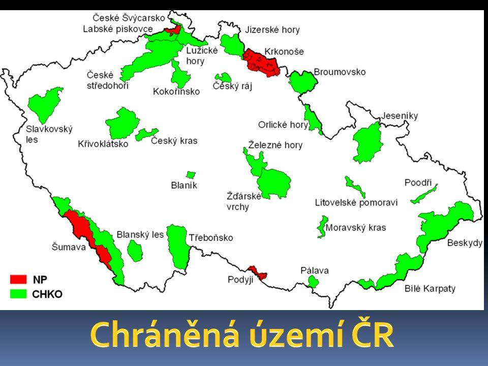Chráněná území ČR