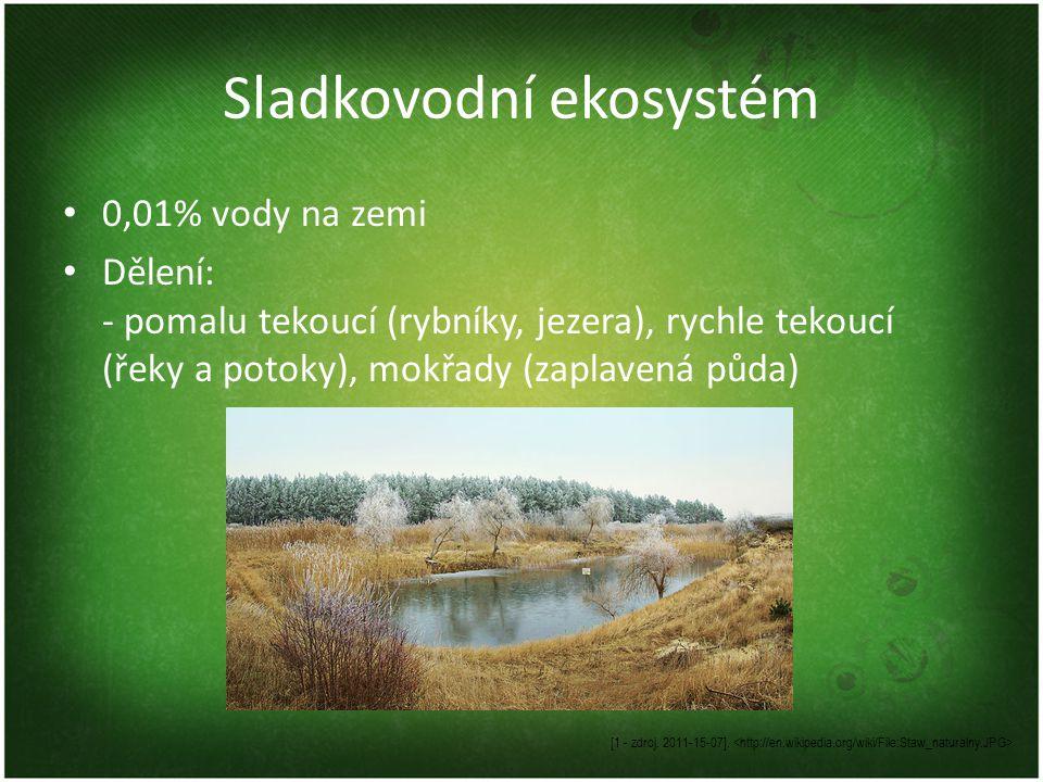 Sladkovodní ekosystém
