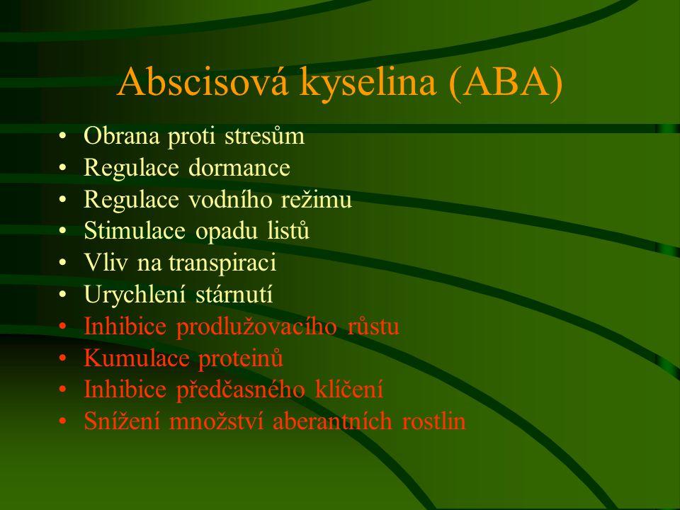 Abscisová kyselina (ABA)