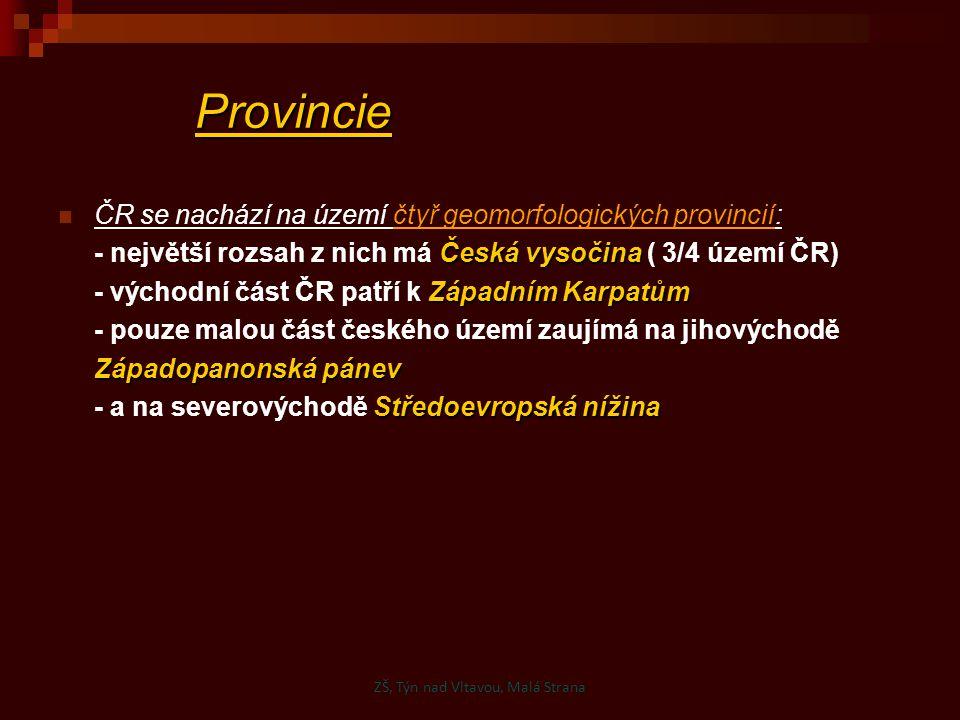 ZŠ, Týn nad Vltavou, Malá Strana