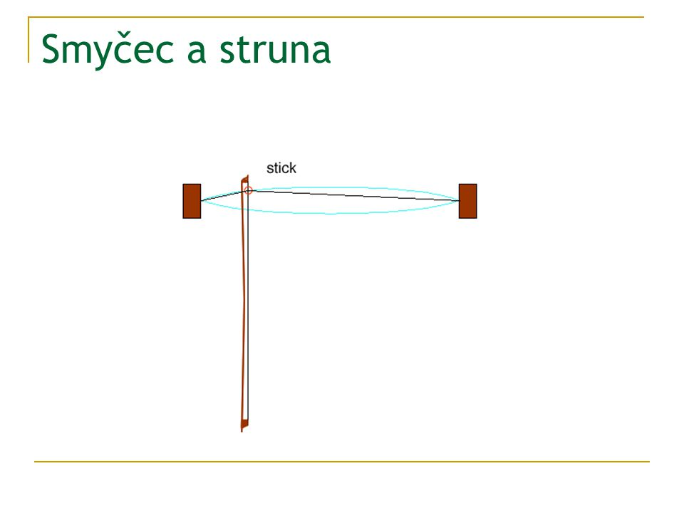 Smyčec a struna