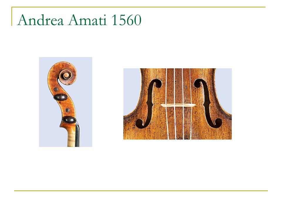 Andrea Amati 1560