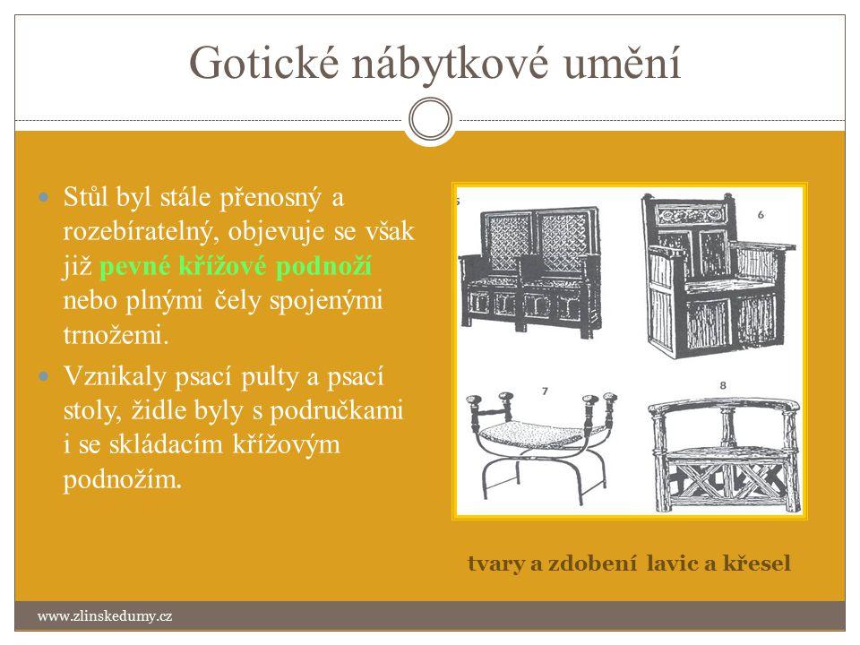Gotické nábytkové umění