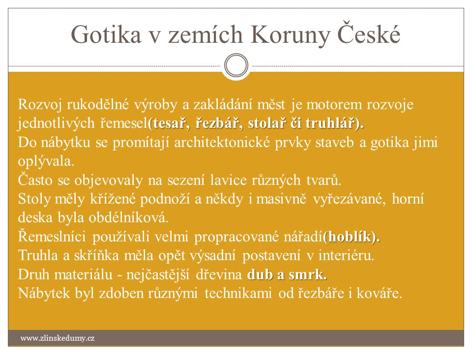 Gotika v zemích Koruny České