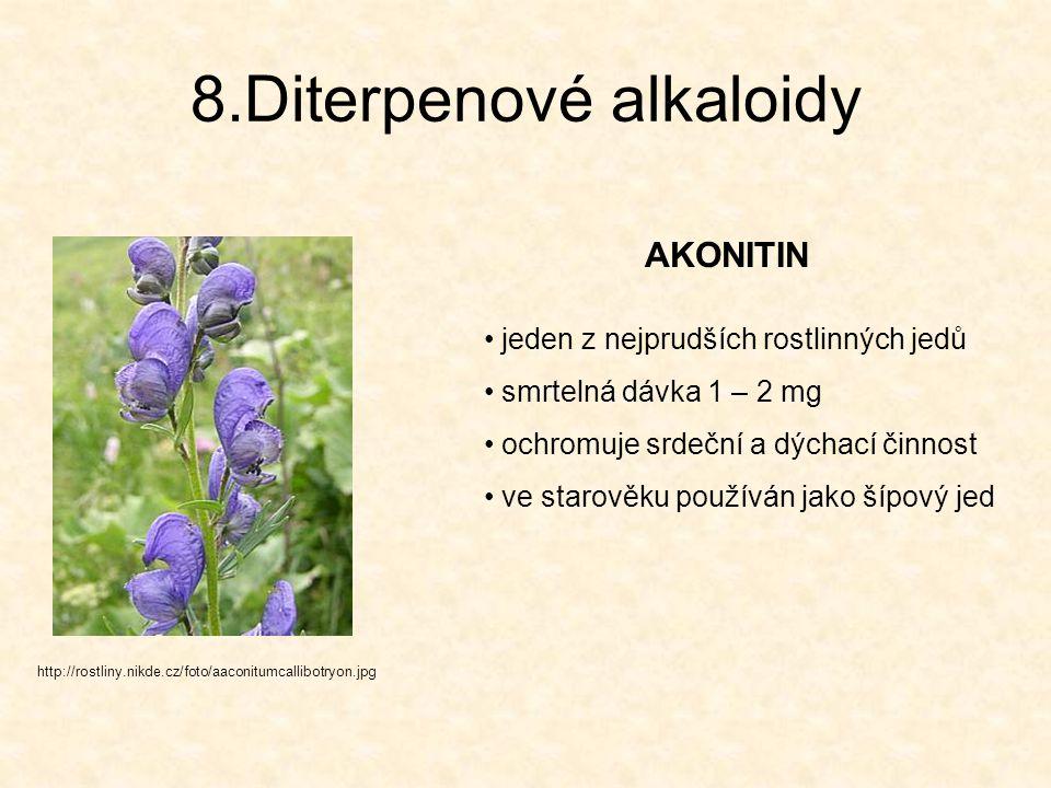 8.Diterpenové alkaloidy