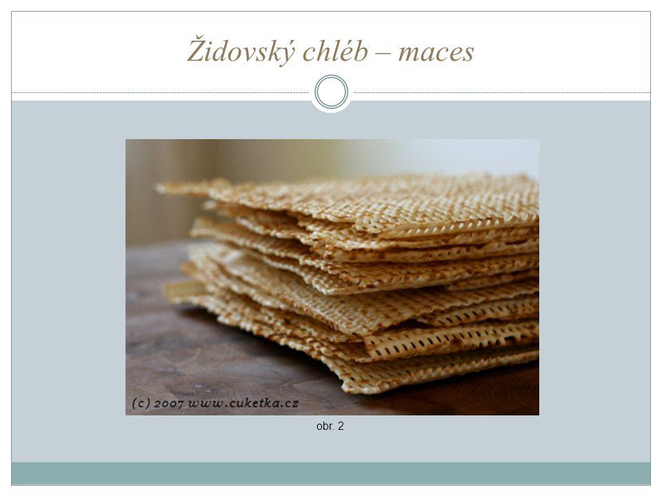 Židovský chléb – maces obr. 2