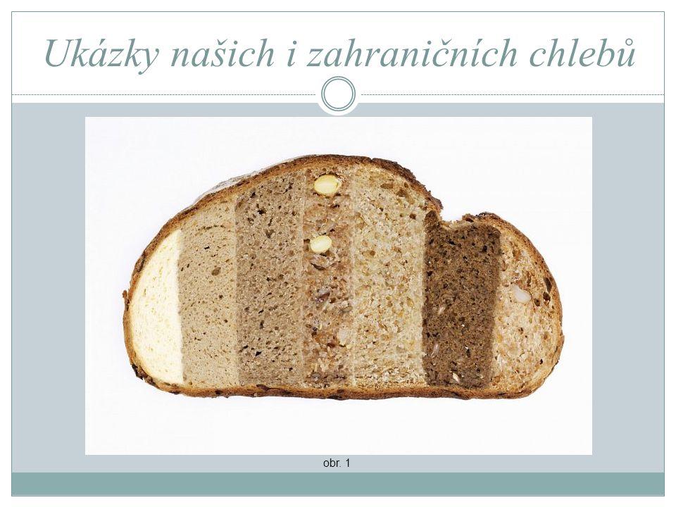 Ukázky našich i zahraničních chlebů