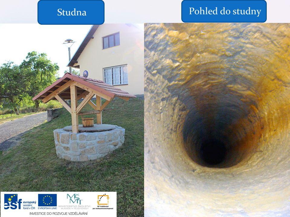 Studna Pohled do studny