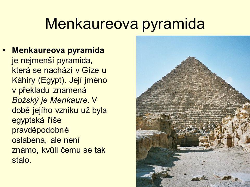 Menkaureova pyramida