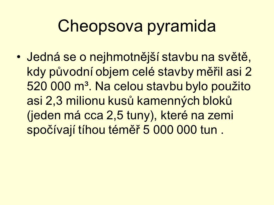 Cheopsova pyramida