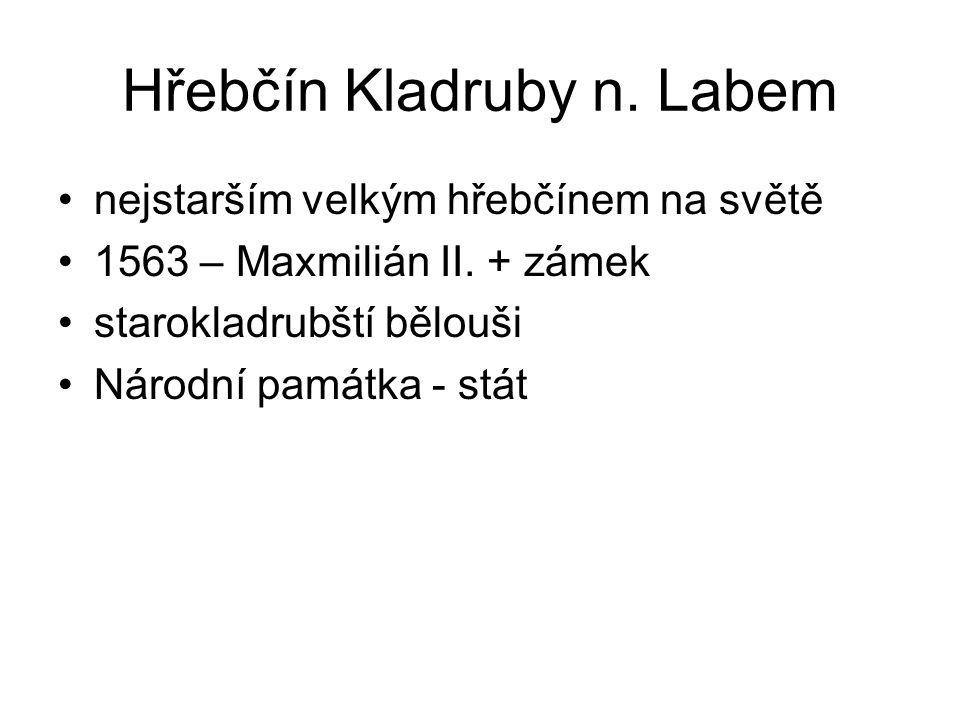 Hřebčín Kladruby n. Labem