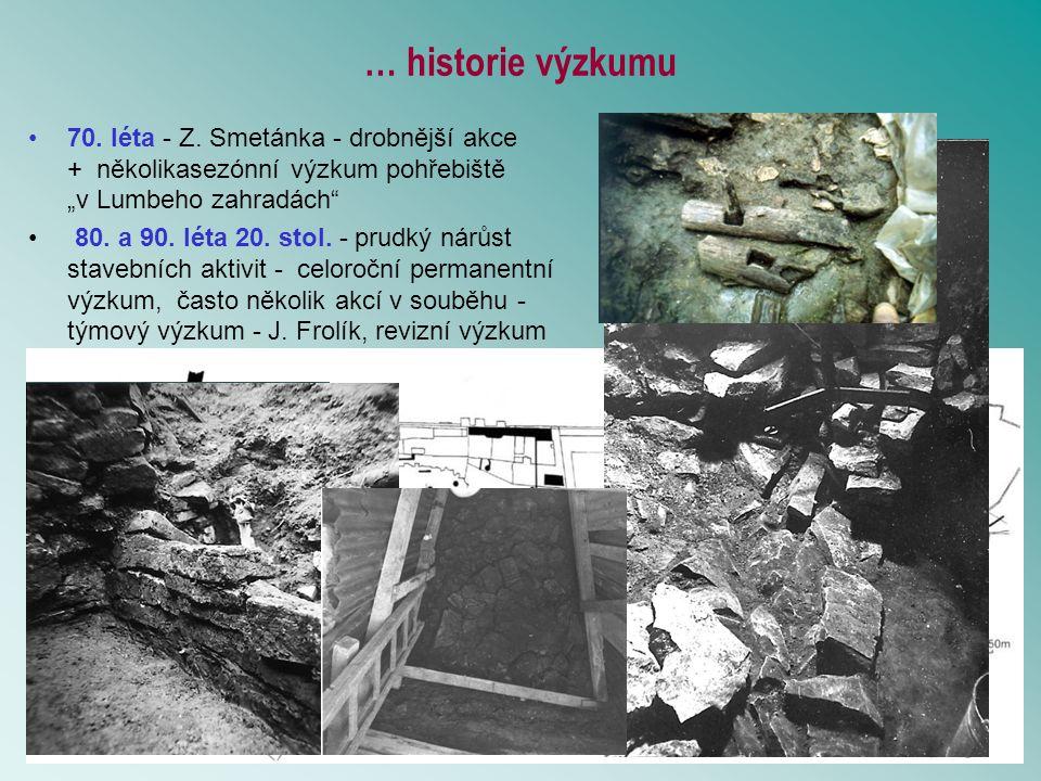 … historie výzkumu
