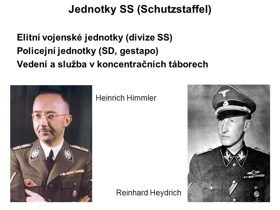 Jednotky SS (Schutzstaffel)