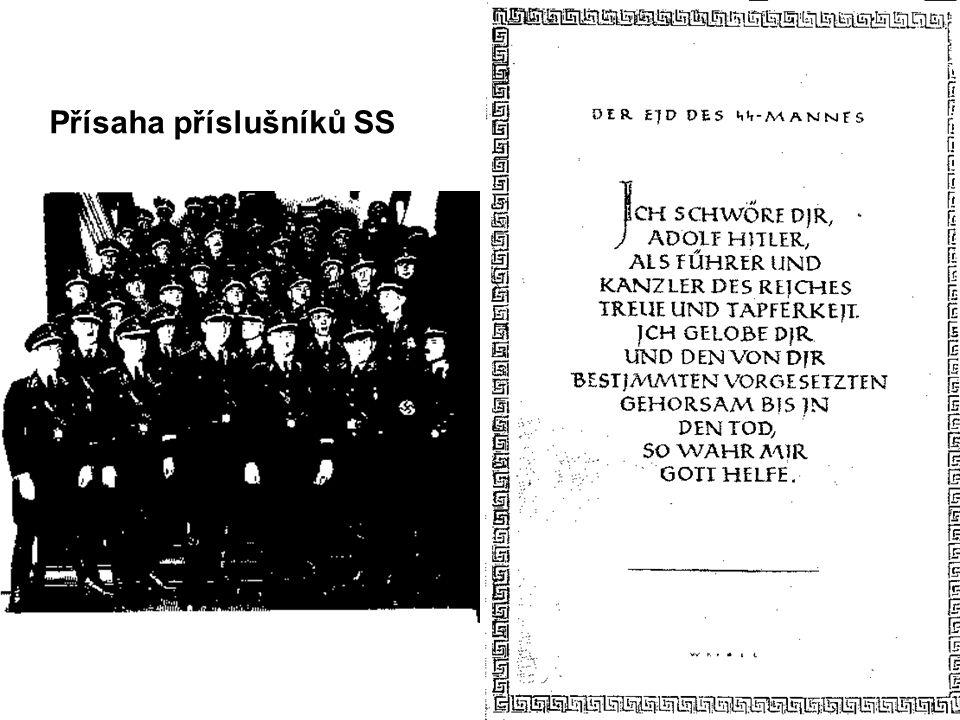 Přísaha příslušníků SS