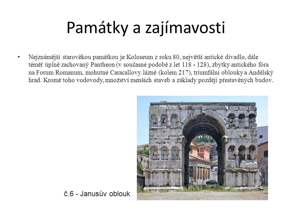 Památky a zajímavosti č.6 - Janusův oblouk