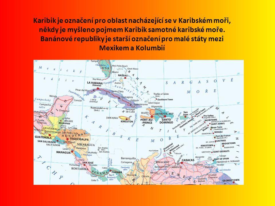 Karibik je označení pro oblast nacházející se v Karibském moři, někdy je myšleno pojmem Karibik samotné karibské moře.