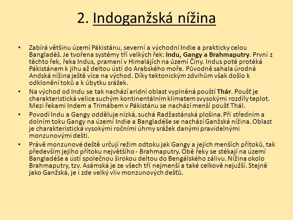 2. Indoganžská nížina