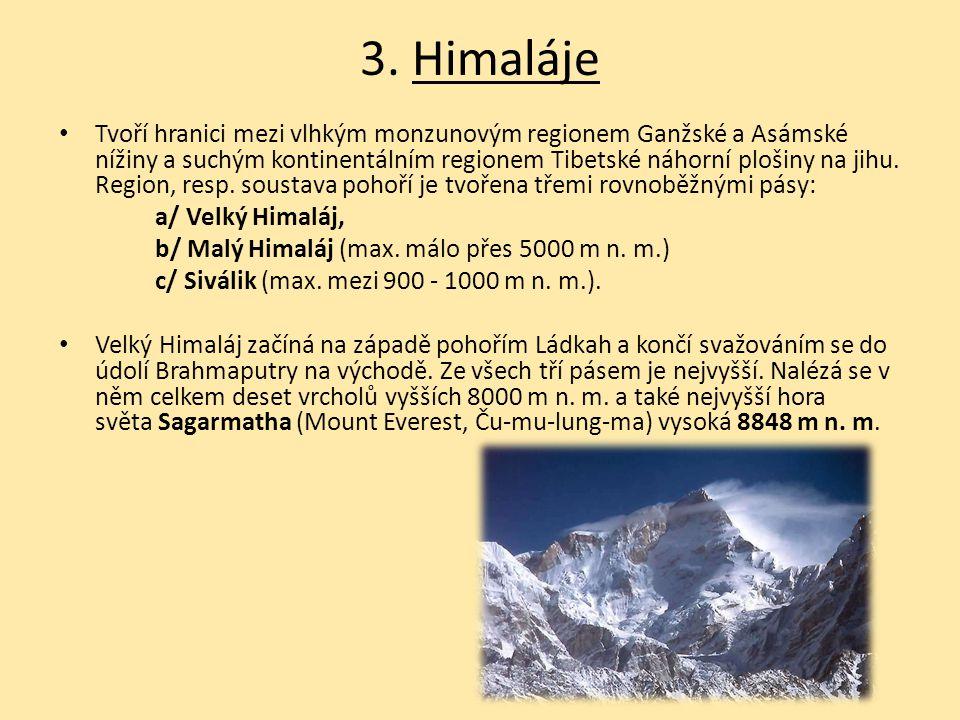 3. Himaláje