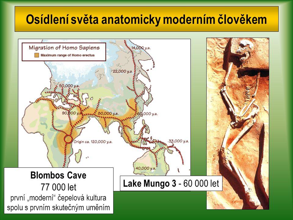 Osídlení světa anatomicky moderním člověkem