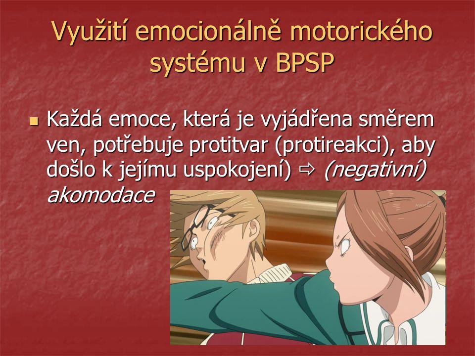 Využití emocionálně motorického systému v BPSP