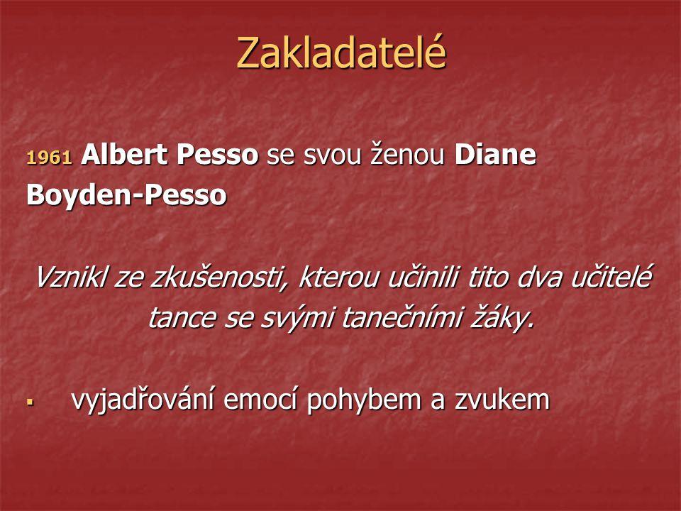Zakladatelé Albert Pesso se svou ženou Diane Boyden-Pesso