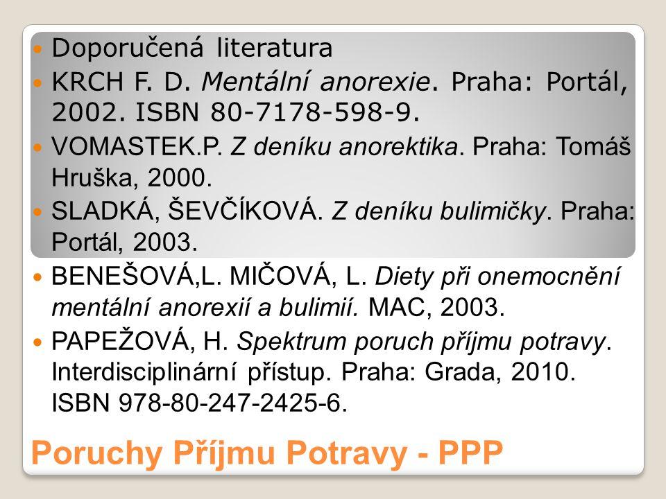 Poruchy Příjmu Potravy - PPP