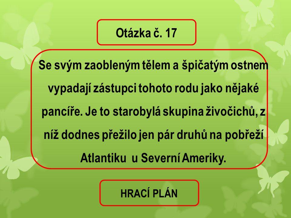 Otázka č. 17