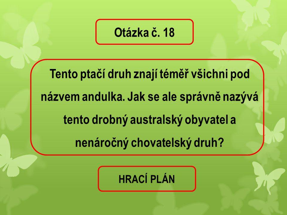 Otázka č. 18
