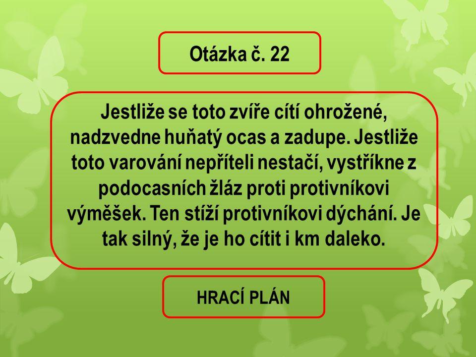 Otázka č. 22