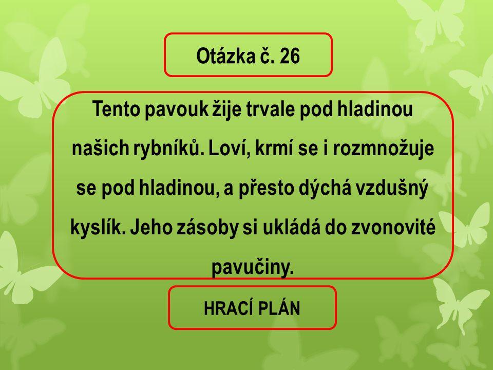 Otázka č. 26