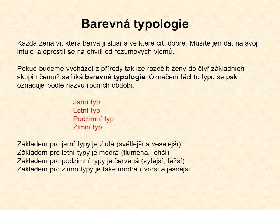 Barevná typologie