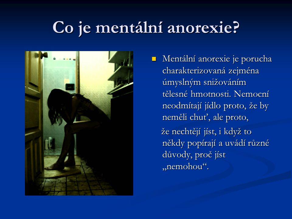 Co je mentální anorexie