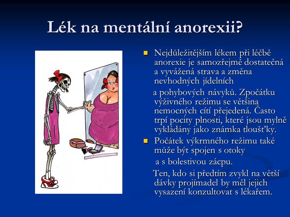 Lék na mentální anorexii